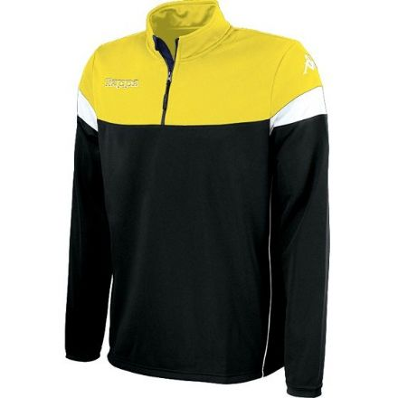 Novare Training Sweat 1/4 Zip Black / Yellow /  White